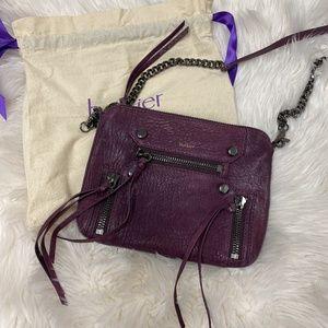 Botkier Purple Chain Strap Crossbody Bag